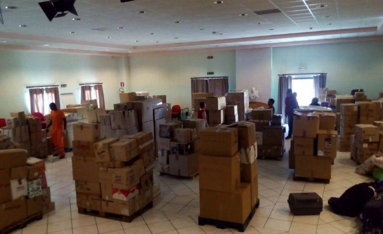 aiuti norcia raccolta sisma solidarietà terremoto cronaca ellera-chiugiana san-mariano