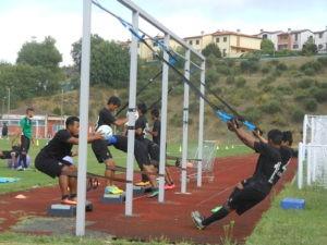 """Un campione del mondo a Ellera: Materazzi e il """"suo"""" Chennaiyin si allenano allo stadio """"Fioroni"""" 12"""
