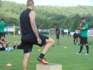 """Un campione del mondo a Ellera: Materazzi e il """"suo"""" Chennaiyin si allenano allo stadio """"Fioroni"""" 2"""