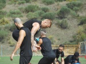 """Un campione del mondo a Ellera: Materazzi e il """"suo"""" Chennaiyin si allenano allo stadio """"Fioroni"""" 6"""