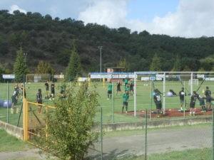 """Un campione del mondo a Ellera: Materazzi e il """"suo"""" Chennaiyin si allenano allo stadio """"Fioroni"""" 9"""