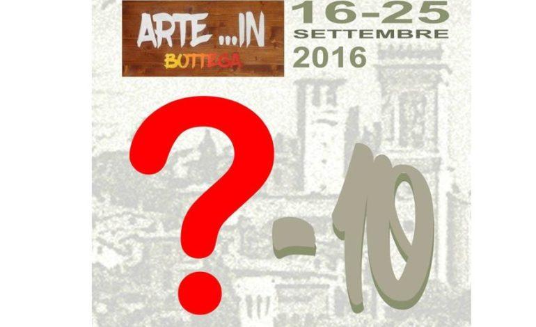 Arte in bottega: è mistero sulla prossima iniziativa organizzata dal comitato culturale