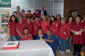 carità charity shop croce rossa quasar solidarietà cronaca ellera-chiugiana