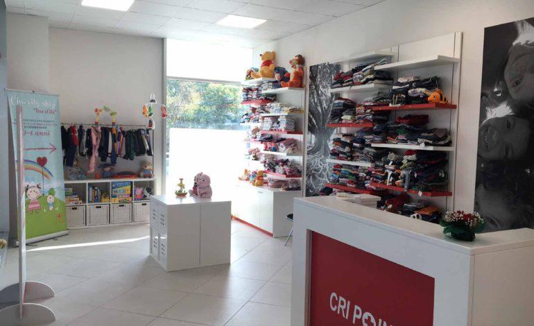 charity shop cri corciano croce rossa italiana inaugurazione quasar village cronaca