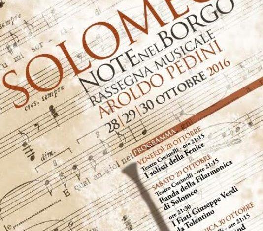 """Torna """"Solomeo… Note nel Borgo. Rassegna Musicale Aroldo Pedini"""""""