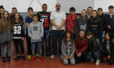 Gli allievi dell'Istituto Benedetto Bonfigli incontrano il Campione Paralimpico Ubaldo Cecilioni