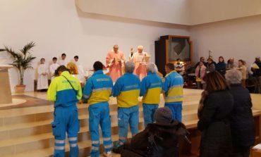 Volontariato: i dieci anni della Misericordia di Perugia, celebrazione a Olmo