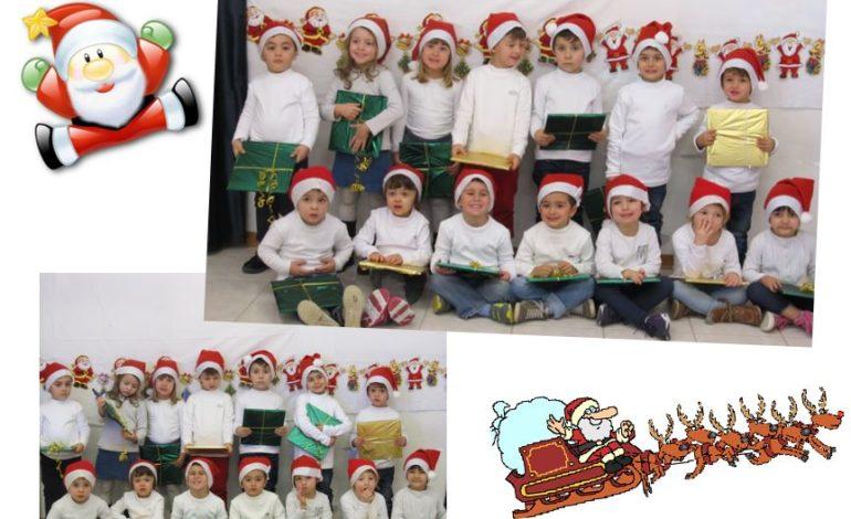 """I bimbi della scuola dell'infanzia di Corciano inviano un biglietto: """"Buon Natale a tutti!"""""""