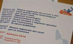 Edilizia: da gennaio in vigore il nuovo elenco regionale dei prezzi