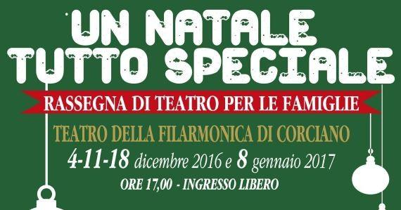 """""""Un Natale tutto speciale"""": alla Filarmonica va in scena il teatro per le famiglie"""