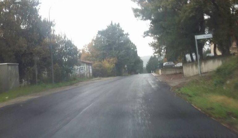 Viabilità: conclusi i lavori di asfaltatura in via Gutenberg