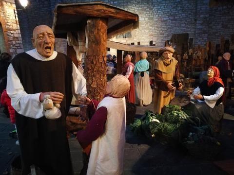 Il programma di Corciano Natale prosegue, fino all'8 gennaio il borgo è vestito a festa