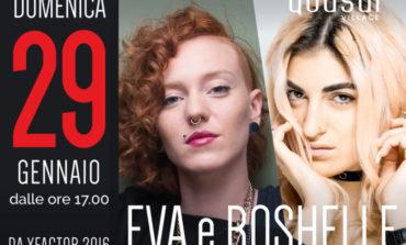 X Factor sbarca al Quasar Village con Eva e Roshelle
