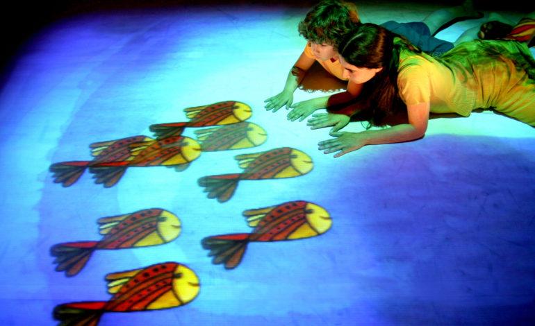 """""""Il giardino dipinto"""" lo spettacolo per famiglie al Teatro Cucinelli"""