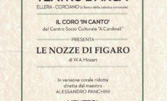 """Il coro """"In Canto"""" e le Nozze di Figaro al teatro Arca"""