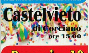 """Arriva il """"Carnevale Contadino"""" a Castelvieto tra carri allegorici, balli e falò"""