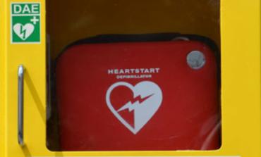 Inaugurazione della prima colonnina salvavita del progetto 'Corciano Cardioprotetta'