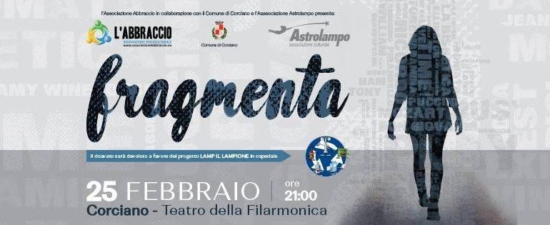 "Arriva ""Fragmenta"" al teatro della Filarmonica"