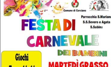 Festa di carnevale dei bambini a San Mariano