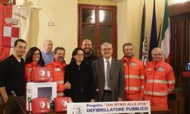 Progetto 'Dai ritmo alla vita': Ovus e Fondazione Cassa di Risparmio donano 3 defibrillatori