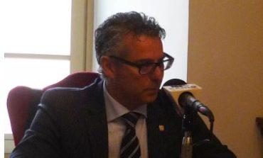 Sisma, il sindaco di Norcia Nicola Alemanno torna fra i terremotati ospitati a Corciano