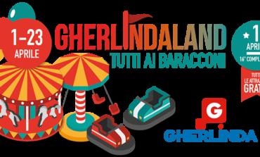 Gherlinda compie 16 anni e festeggia con Gherlindaland il lunapark per grandi e piccini