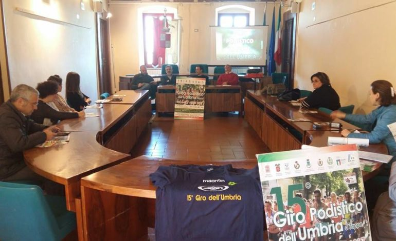 corsa gara giro podistico a tappe iscritti podismo regione umbria corciano-centro cronaca sport