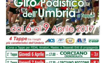 Torna il Giro Podistico dell'Umbria a Tappe