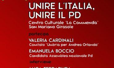Primarie PD, nuovo incontro del comitato Corciano per Andrea Orlando