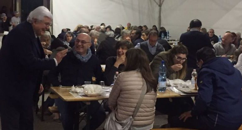 amatrice amatriciana cena mantignana ricostruzione sisma solidarietà corciano-centro cronaca mantignana