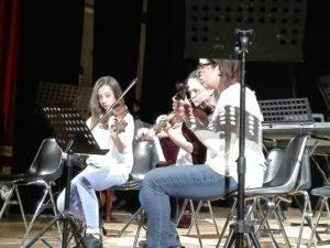 bambini musica saggio scuola corciano-centro cronaca ellera-chiugiana mantignana san-mariano