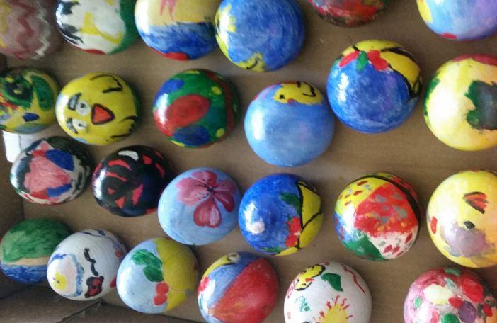 arte in bottega bambini dipingere insegnanti pasqua scuola corciano-centro cronaca eventiecultura