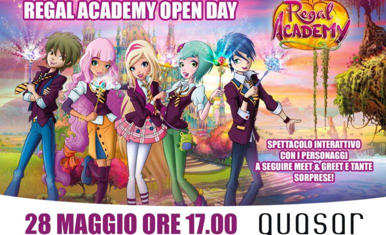 Regal Academy Open Day al Quasar Village