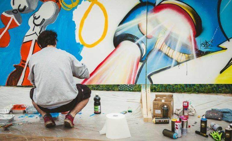 arte comics fumetti gherlinda giovani graffiti quasar village street art tags ellera-chiugiana eventiecultura