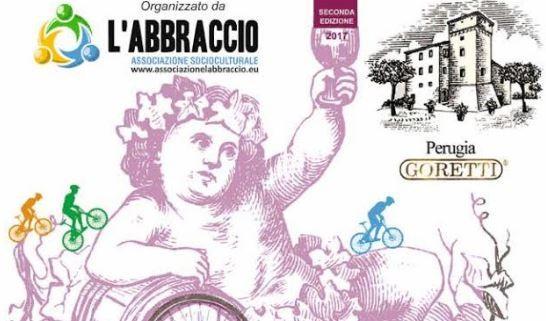 bici cycling in bici con bacco l'abbraccio turismo vino wine eventiecultura