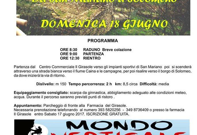 mondoverticale passeggiata proloco corciano-centro san-mariano solomeo sport