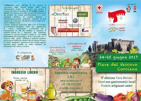 Torna L'aCRImercato a Pieve del Vescovo con stand, laboratori e allestimento medievale
