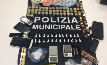 Droga: 28enne arrestato dalla polizia locale di Corciano