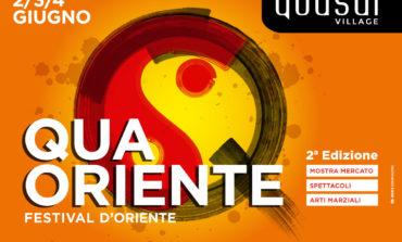 """Torna """"Qua Oriente"""" il festival dedicato al benessere al Quasar Village"""
