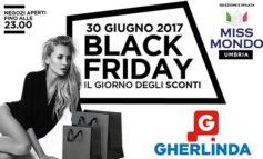 Black Friday: al Gherlinda grandi affari e le ragazze di Miss Mondo Umbria