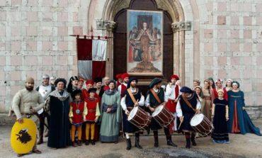 Delegazione del corteo storico Agosto Corcianese alla Scamiciata di Fasano nel Brindisino