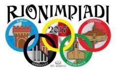 Rionimpiadi 2017: a Corciano torna la sfida tra Borgo, Castello, Santa Croce e Serraglio