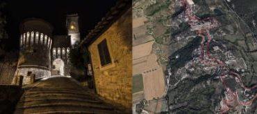 """Il Gruppo Camminiamo del """"Circolo Universitario San Martino"""" sceglie il borgo di Corciano per la passeggiata in notturna"""