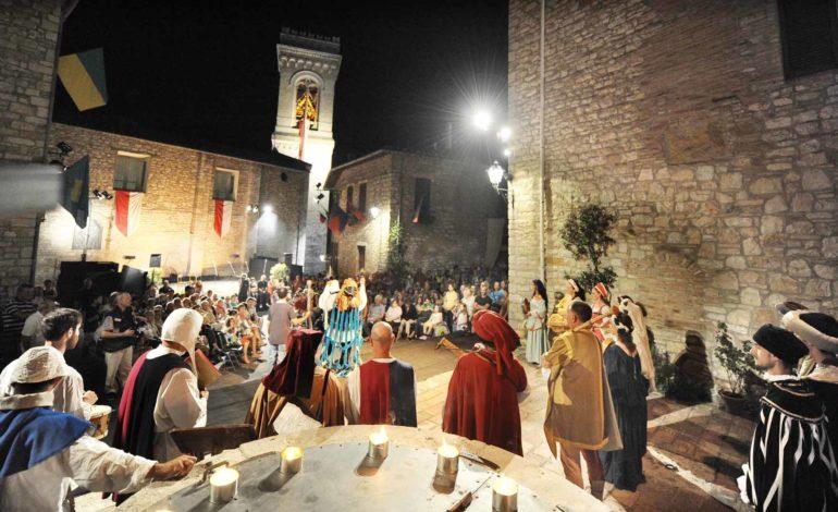 Corciano Festival, al via le giornate delle rievocazioni storiche. Il 13 agosto le Serenate dei Menestrelli