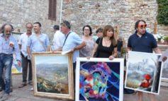 """Alla terza estemporanea di pittura """"Città di Corciano"""" oltre 60 artisti provenienti da tutta Italia"""