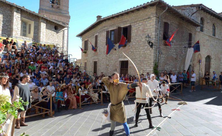 Corciano Festival: sabato 12 agosto tra giochi medievali, mostre ed enogastronomia