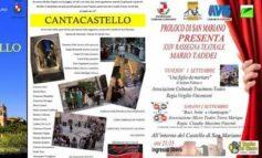 Cantacastello e Rassegna Teatrale 'Mario Taddei', il Castello di San Mariano risplende di luce propria