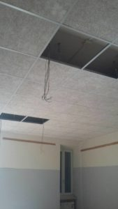 La scuola Bonfigli perla dell'efficienza energetica: lavori a pieno ritmo in vista della prima campanella 2