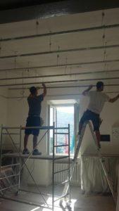 La scuola Bonfigli perla dell'efficienza energetica: lavori a pieno ritmo in vista della prima campanella 5
