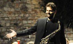 Il sassofonista corcianese Cristiano Arcelli in concerto alla Casa del Jazz di Roma